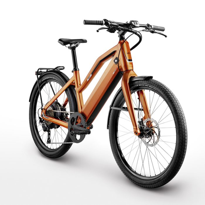 Stromer ST1X e-bike emerging gear