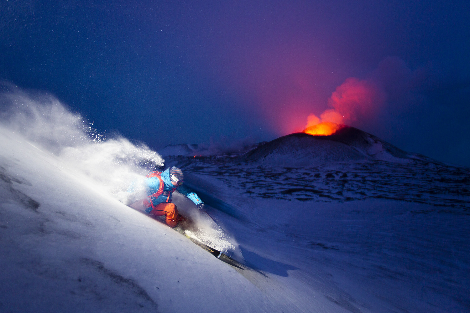 Photographer Fredrik Schenholm: Volcanic Skiing: A Photo 5 Years In The Making