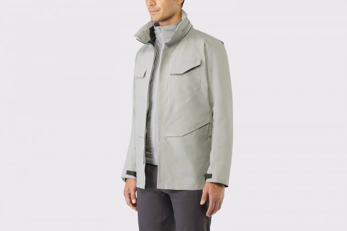 Arc'Teryx Veilance performance trench coat most expensive gear