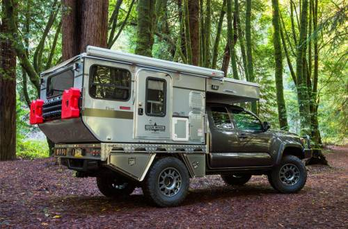 Woolrich Special Edition Flat Bed camper woods