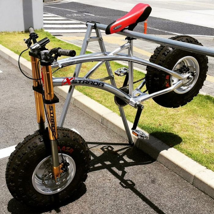 XStradaRack fat bike