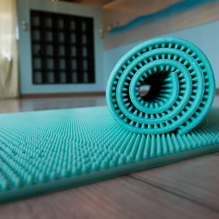 accupressure yoga mat product