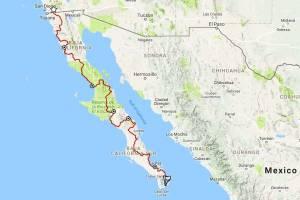 baja divide route