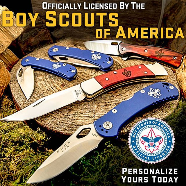 buck knives for boy scouts