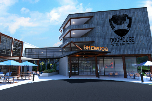 brewdog hotel entrance