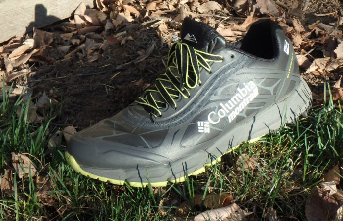 First look 39 outdry extreme 39 waterproof running shoes for Columbia fishing shoes