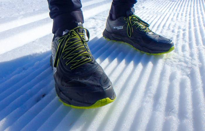 Review Caldorado II Outdry Extreme Waterproof Running Shoes