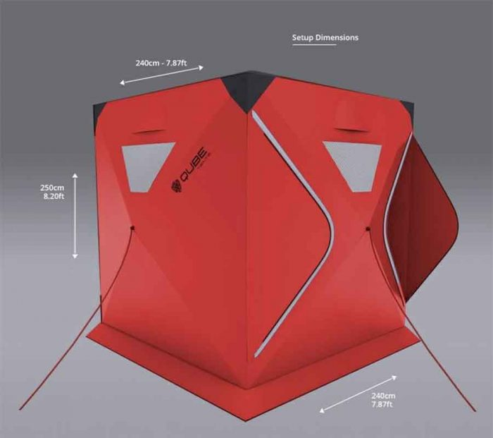 M2C Innovation Ltd Qube: connected camping tents