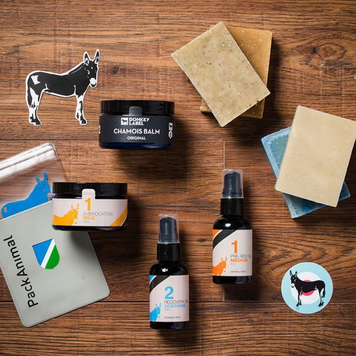 donkey label skin care products