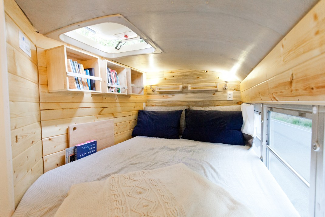 Vanlife Too Cramped Try A School Bus Gearjunkie