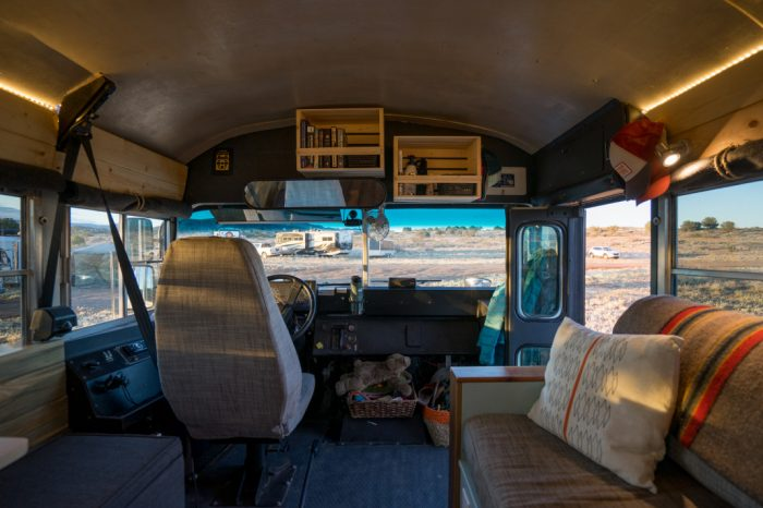 school bus mobile home