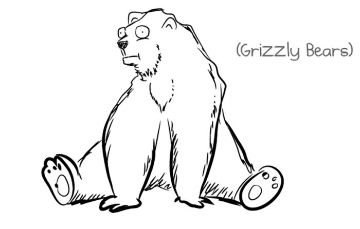 grizzly bear comic