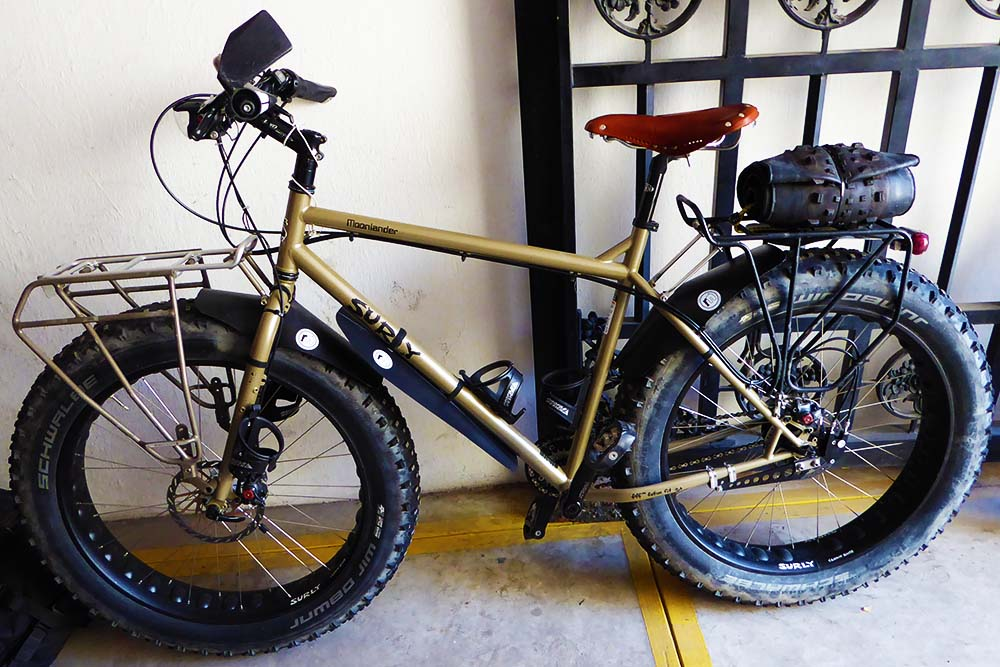 The Fat Bikes That Toured 1 200 Miles