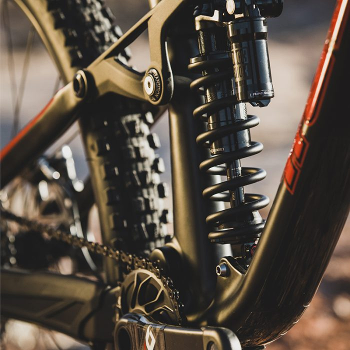 rock shox super deluxe coil emerging gear