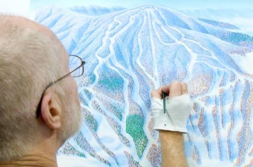 ski map painter
