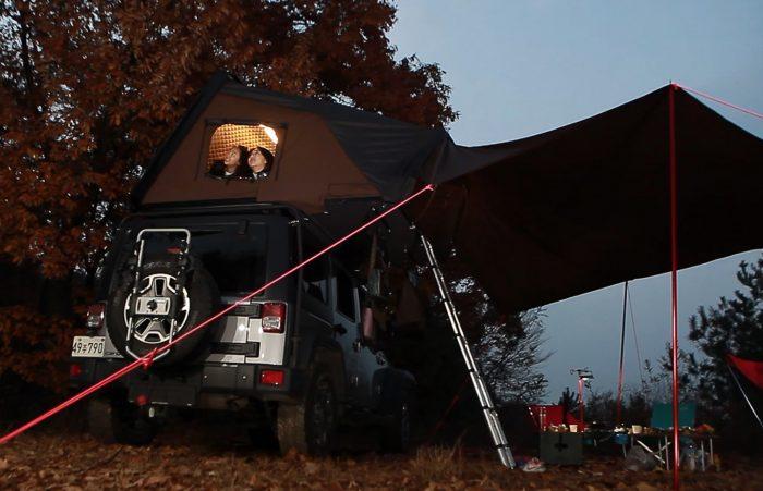 Skycamp: Rooftop Tent Raised $2 Million On Kickstarter