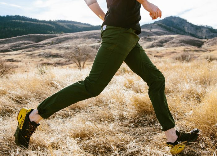 Topo designs stretchy tech pant colorado, usa