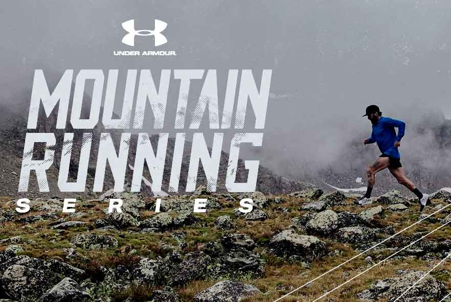 Under armour mountain trail running series