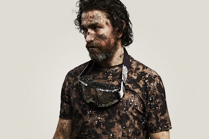 This Shirt Comes Pre-Stained With (Fake) Blood, Sweat, Dirt: Vollebak Blood Salt and Dirt Camo Range