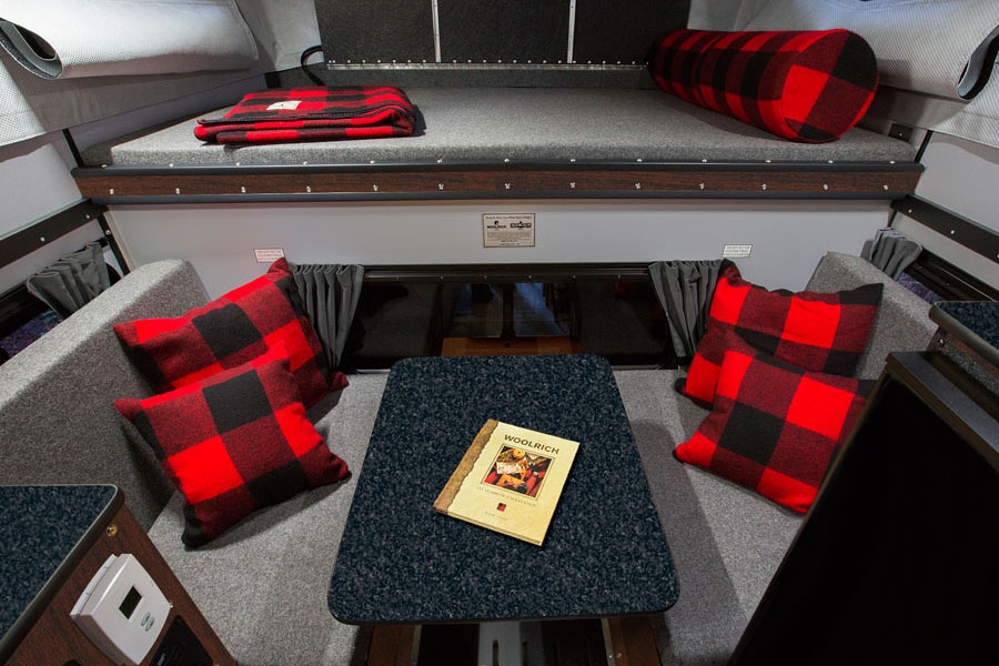 Buffalo, Plaid, And Pickups: Woolrichu0027s Decked Out Campers