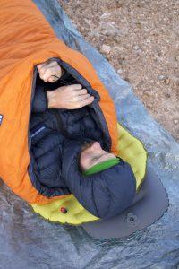 Feathered Friends Vireo lightweight sleeping bag