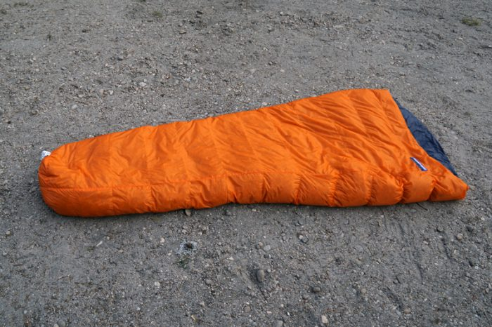 Feathered Friends Vireo lightweight sleeping bag