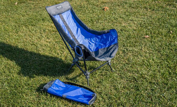 Comfort is the name of the game, and this chair is the most comfortable,  compact camp chair I've ever tried. The lounge game is strong with this  one, ... - Gear Junkies – ENO Lounger DL: Hammock Comfort In A Camp Chair