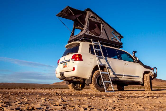 Eezi-Awn Stealth Roof Top Tent & South African Rooftop Brand Introduces Hard-Top u0027Stealthu0027