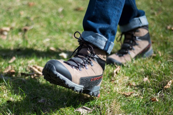 La Sportiva Nucleo hiking boot for spring