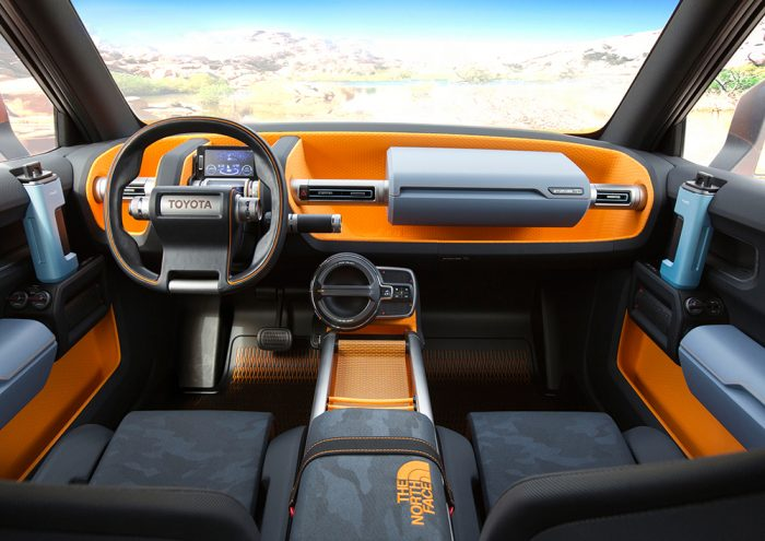 Toyota FT4x interior