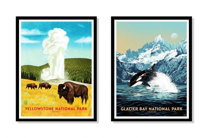 59 Parks Print Series National Park Posters