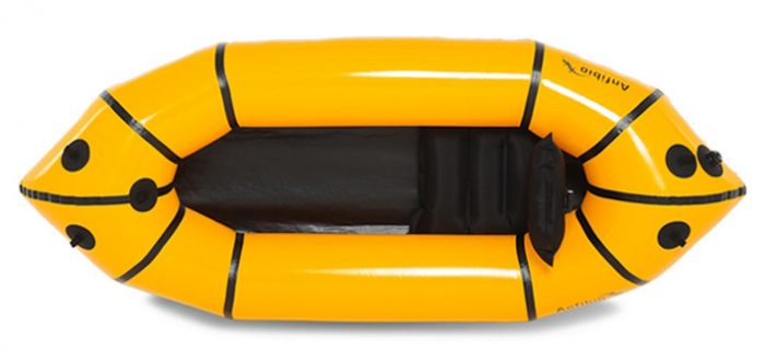 Anfibio Alpha XC packraft review