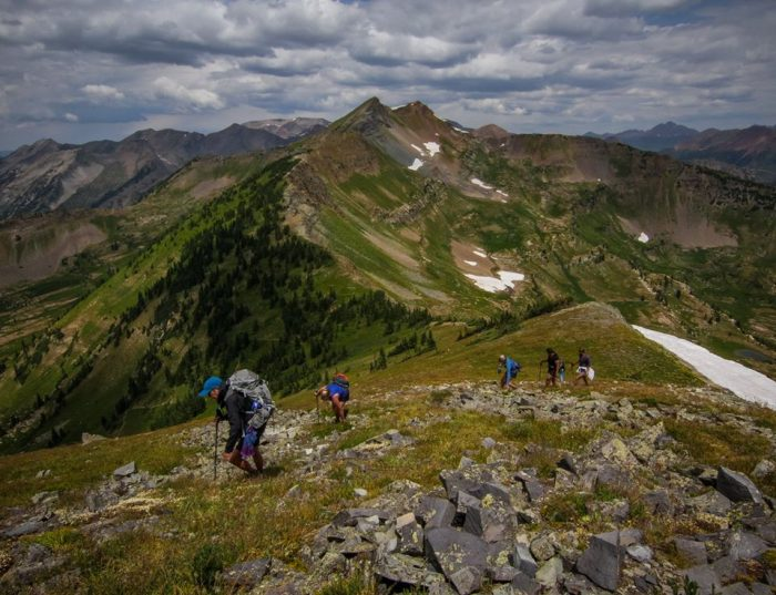 Big City Mountaineers 2018 guided climbs