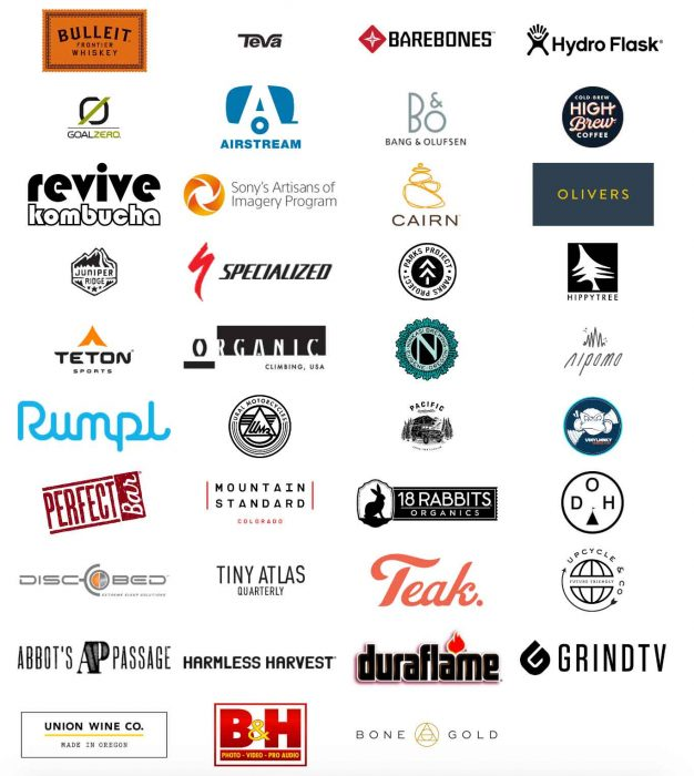 Nearly 40 brands participated in The Outpost