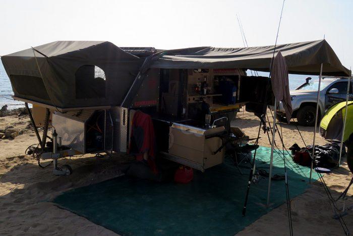 conqueror 4x4 trailer deployed
