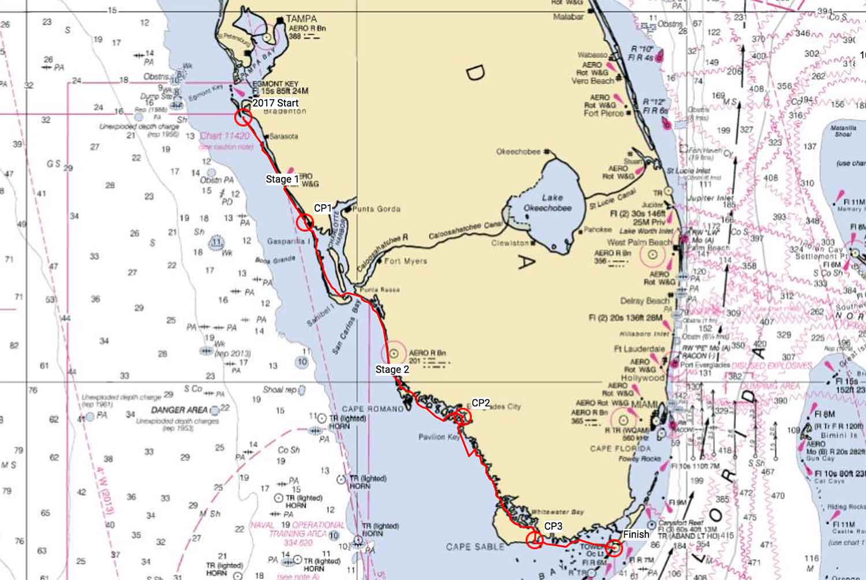 Everglades Florida Map.No Sleep Keep Paddling Kayaking 300 Miles In Everglades Challenge