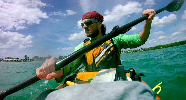 No Sleep Keep Paddling Kayaking 300 Miles In Everglades