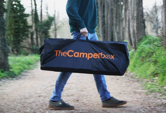 The Camperbox travel and sleep in your car