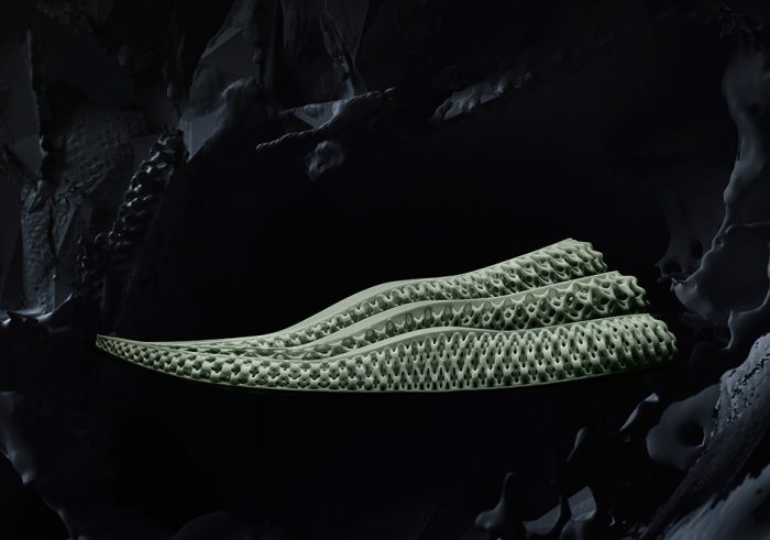 Adidas Futurecraft 4D 3d printed running shoe