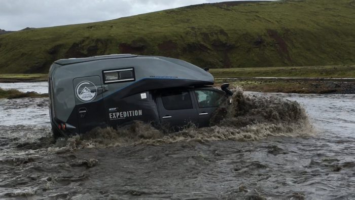 hilux expedition v1 fording river