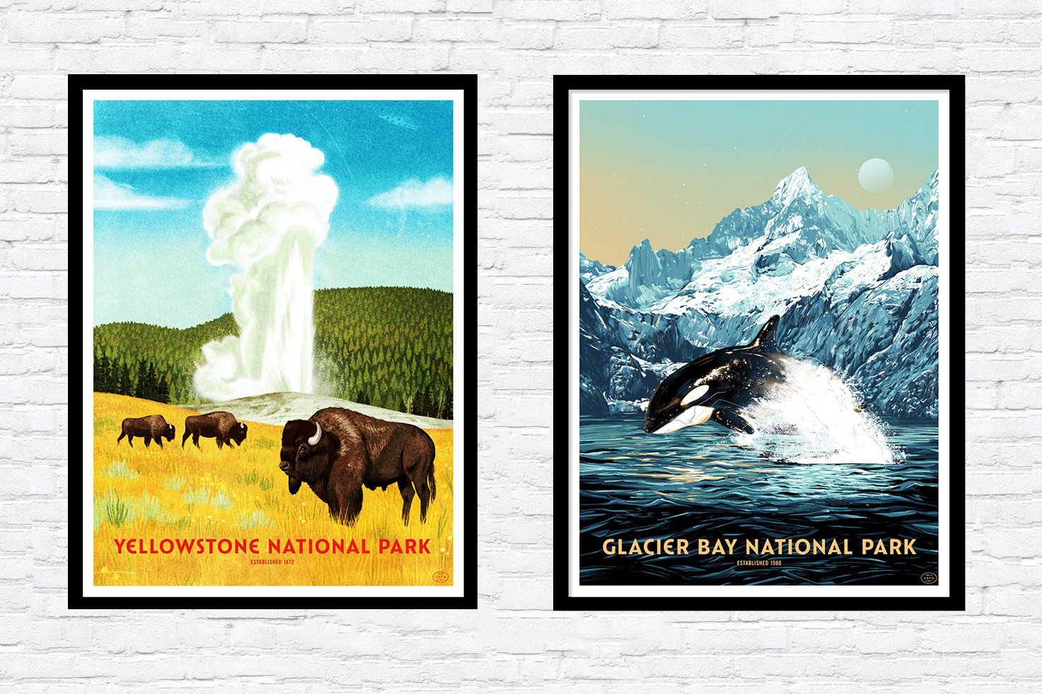 National Parks Print Series