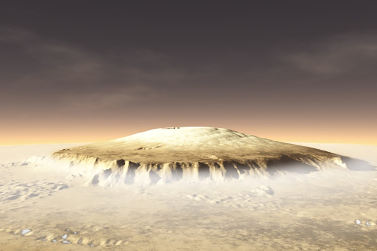 Oh Law Firm >> Sci-Fi Ascent: Firm Calls For Route Up Tallest Mountain On Mars | GearJunkie