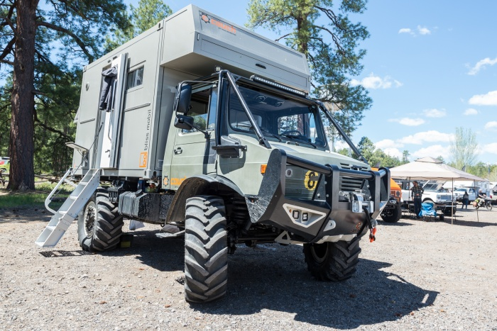 Couch Off-Road/BlissMobile Unimog Overland Expo