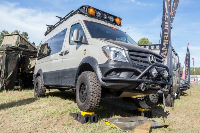 ROAM Built Sprinter Overland Expo