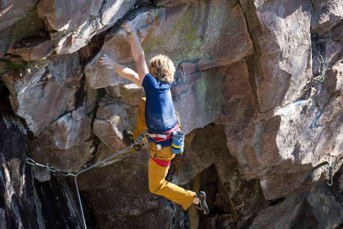 Jeff's World wilderness sport climbing destination Ontario