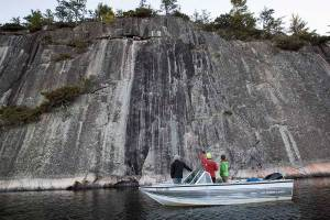 Jeff's World wilderness sport climbing destination Ontario