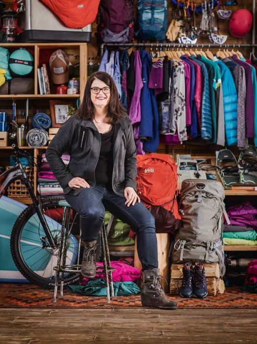 Susan Viscon is REI's Senior Vice President, Merchandising and Private Brands