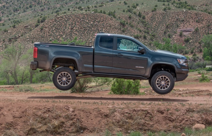 Off-Road Test: The 2018 Chevrolet Colorado ZR2
