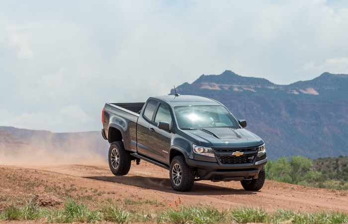 Chevy Colorado ZR2 test drive