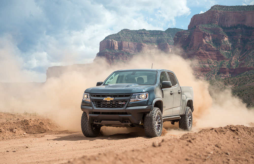Off-Road Test: The 2018 Chevrolet Colorado ZR2 | GearJunkie